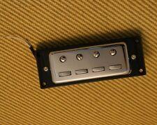"PU-6420-010 Chrome Vintage Style ""Staple"" Humbucker Pickup for Hofner® Bass"