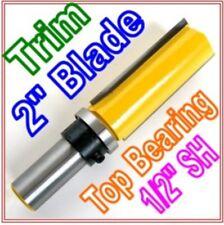 "1 pc 1/2""SH 2"" Blade Top Bearing Flush Trim Router Bit S"