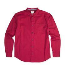 54$ Levi's Men Webb Stretch Button Down Shirt , Color: Pomegrante , Size:Large