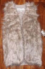 NWT Women's Natural SEBBY Faux Fur Vest Size XL X-LARGE