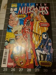 New Mutants 98 NM- To NM White Pages First Appearance Of Deadpool And Domino! Rp