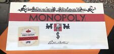 Retro Monopoly 1935 First Deluxe Edition Classic Reproduction New In Shrink