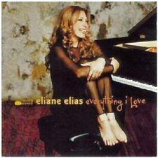 ELIANE ELIAS - EVERYTHING I LOVE  CD 13 TRACKS MODERN JAZZ NEW+