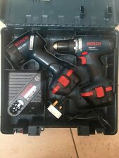 Bosch GSR 12v Professional Cordless Power Drill And Cordless GLI Light