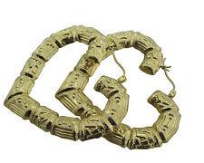10KT Yellow Gold Hoop Earrings 7.23gms from BossManNYC