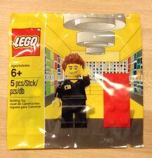 LEGO Store Shop at Home Clerk Minifig 5001622 Polybag Rare Envelope Still Sealed