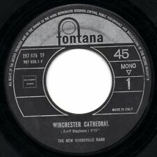 THE NEW VAUDEVILLE BAND disco 45 giri WINCHESTER CATHEDRAL made in ITALY