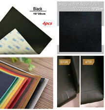 4pcs Self-Adhesive Leather Repair Patch for Car Seat Cover Sofa Handbags Jackets