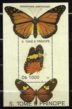 Sao Tomé and Principe : Butterflies 1992  MNH