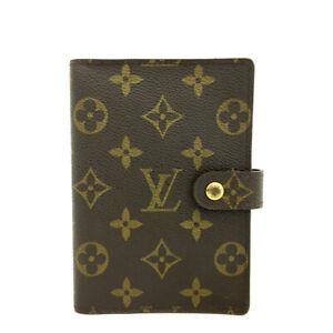 Louis Vuitton Monogram Agenda PM Notebook Cover /90543