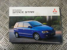 2002 MITSUBISHI SPACE STAR HATCHBACK 1.8 GDI OWNER'S MANUAL