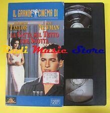 film VHS cartonata LA GATTA SUL TETTO CHE SCOTTA elizabeth taylor (F38*) no dvd