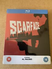 SCARFACE (1983) ~~ Zavvi Exclusive Blu-Ray STEELBOOK ~~ BRAND NEW and SEALED