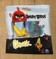 Rovio Angry Birds Chuck Figure Spin Master Black new sealed bag 5 cm yellow