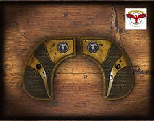 RUGER BIRDSHEAD GRIPS ~ MAGNA-TUSK ™ AGED IVORY SERPENTINE + Steer BIRDS HEAD ^