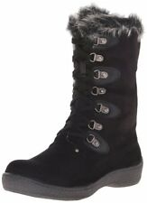 Western Chief Women's Kelly Plush Slipper Boots - Black - Size: 8