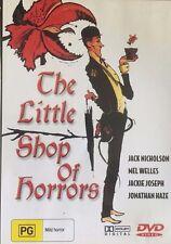 The Little Shop of Horrors Jack Nicholson ALL Region DVD Like New