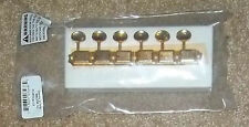 Fender® Gold Vintage Tuners RH Strat/Tele~Kluson 11/32nd`s Bushings~Screws~New
