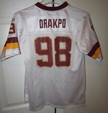 NFL Washington Redskins #98 Brian Orakpo Replica Jersey Youth Large Reebok EUC