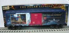 "LIONEL THOMAS KINKADE ""THE POLAR EXPRESS"" BOX CAR  O GAUGE"