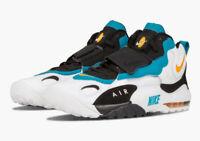 Nike Air Max Speed Turf Sz 9 10.5 Miami Dolphins White Orange Aqua 525225-100