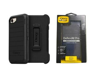 Otterbox Defender Pro Case + Holster For iPhone 7 iPhone 8 & SE 2020 (4.7) Black