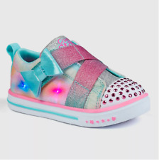 New S Sport By Skechers Robyn Light Up  Sneakers Toddler Girls Size 5