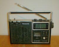Vintage Panasonic Model RF-1060 AM/FM/PSB 3-Band Portable Radio - Japan (Parts)