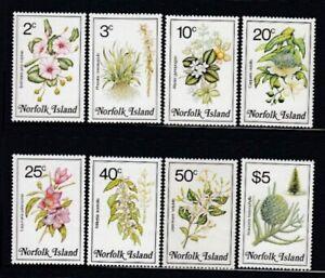 NORFOLK ISLAND Local Flowers I MNH set