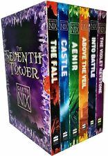 Garth Nix The Seventh Tower Collection 6 Books Box Set Castle, Violet Keystone