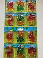 Dinosaurus Jelly Sweets 2x6 Party/Loot/Gift Bag TRex/Raptor/Brachio/Ankylo etc