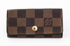 Authentic Louis Vuitton Multicles 4 Damier N62631 Key Case #22396