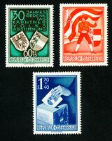 Austria Stamps # 269-71 VF OG LH Set of 3 Scott Value $120.00