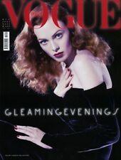 Vogue Italia 12/2004 Nicole Trunfio Lisa Cant Shannan Click Lydia Hearst Meisel