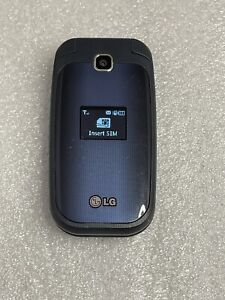 LG 450 B450 Blue (T-Mobile) 3G GSM Basic Cellular Flip Phone - Clean ESN / IMEI