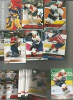 1990-2006 FLORIDA PANTHERS HOCKEY 225+  CARD LOT