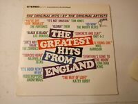 The Greatest Hits From England - Various Artists - Vinyl LP 1967