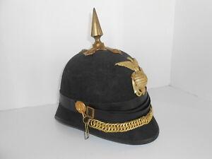 USMC M1892 Dress Spiked Hat/Helmet EGA full wing eagle PICKELHAUBE