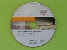 CD NAVIGATION SOFTWARE EX DEUTSCHLAND + EU 2009 AUDI BNS 5.0 A2 A3 A4 A6 TT 8E0