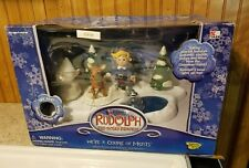 Rudolph the Red Nose Reindeer We're A Couple of Misfits Talking Play Set - New