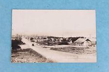 VINTAGE 1934 RPPC REAL PHOTO POSTCARD SOAP LAKE WASHINGTON TOWN VIEW POSTED