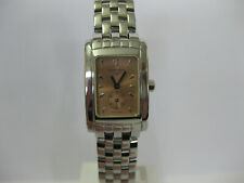 Ladies Longines Dolce Vita Watch Stainless Steel Salmon Dial L5.155.4 #1199