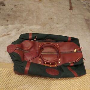 CANVAS BACK DRY  JW Hulme Green Battenkill Overnight Hunting Wheeled Duffle Bag