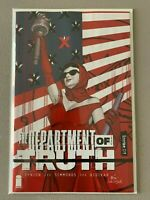 Department of Truth 1 - Image Comics - 1:25 - James Tynion - NM