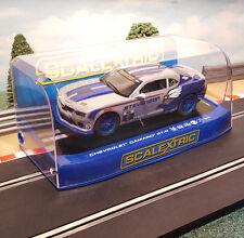 Scalextric 1:32 Digital Car - C3596 Chevrolet Camaro GT-R Matt Bell #9 *LIGHTS*