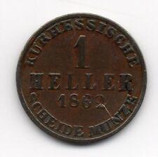 Germany - Hesse-Cassel  - 1 Heller 1862