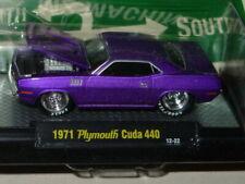M2 MACHINES 1971 71 PLYMOUTH CUDA BLOWN 440 -Plum Crazy Purple, MIP