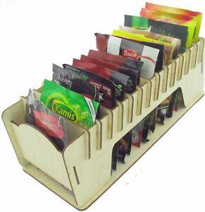Spice Rack Organizer Box Container Grey  Kitchen Box Organizer Office Herbs