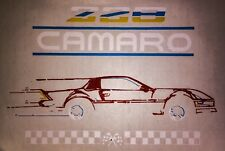 80s Chevrolet Camaro Iroc-Z LU5 Muscle Car RS SS Z28 Copo Yenko T-shirt iron-on