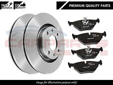 FOR VAUXHALL ASTRA H MK5 2004- FRONT 5 STUD BRAKE DISCS AND BRAKE PADS  SET